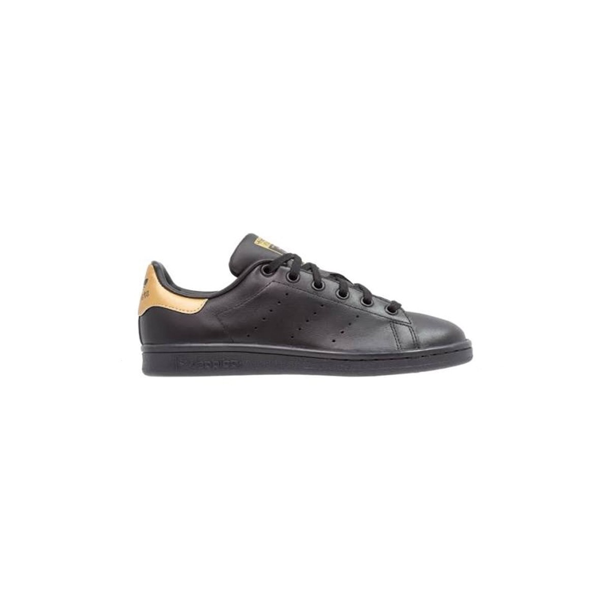 Basket Stan Smith noir/or