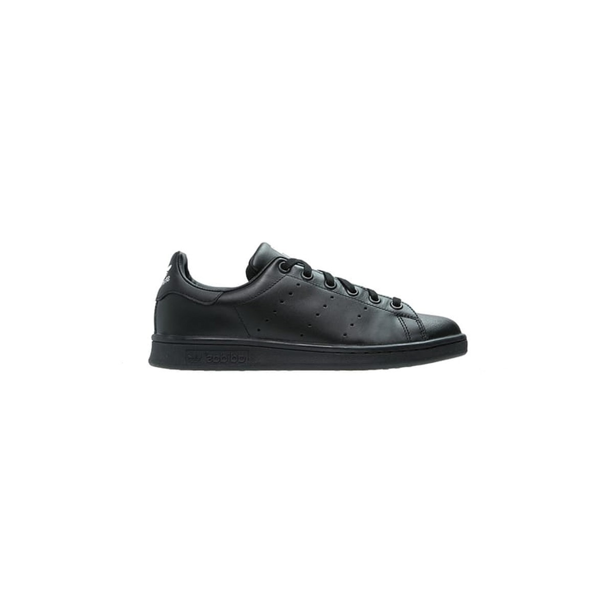 Basket Stan Smith lacets noir/noir