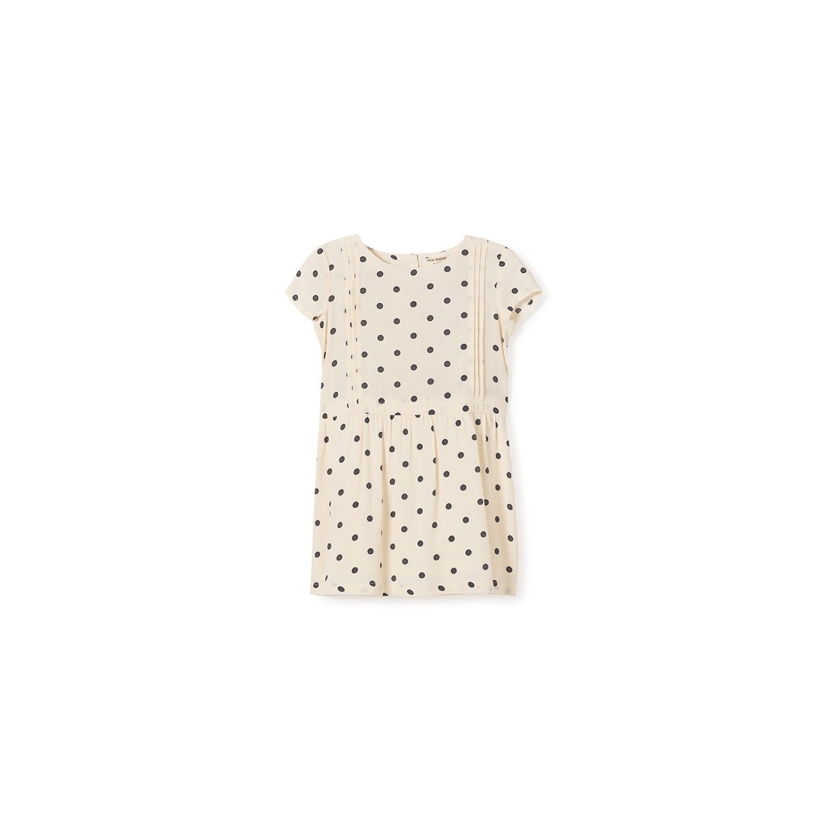 Vestido double dots