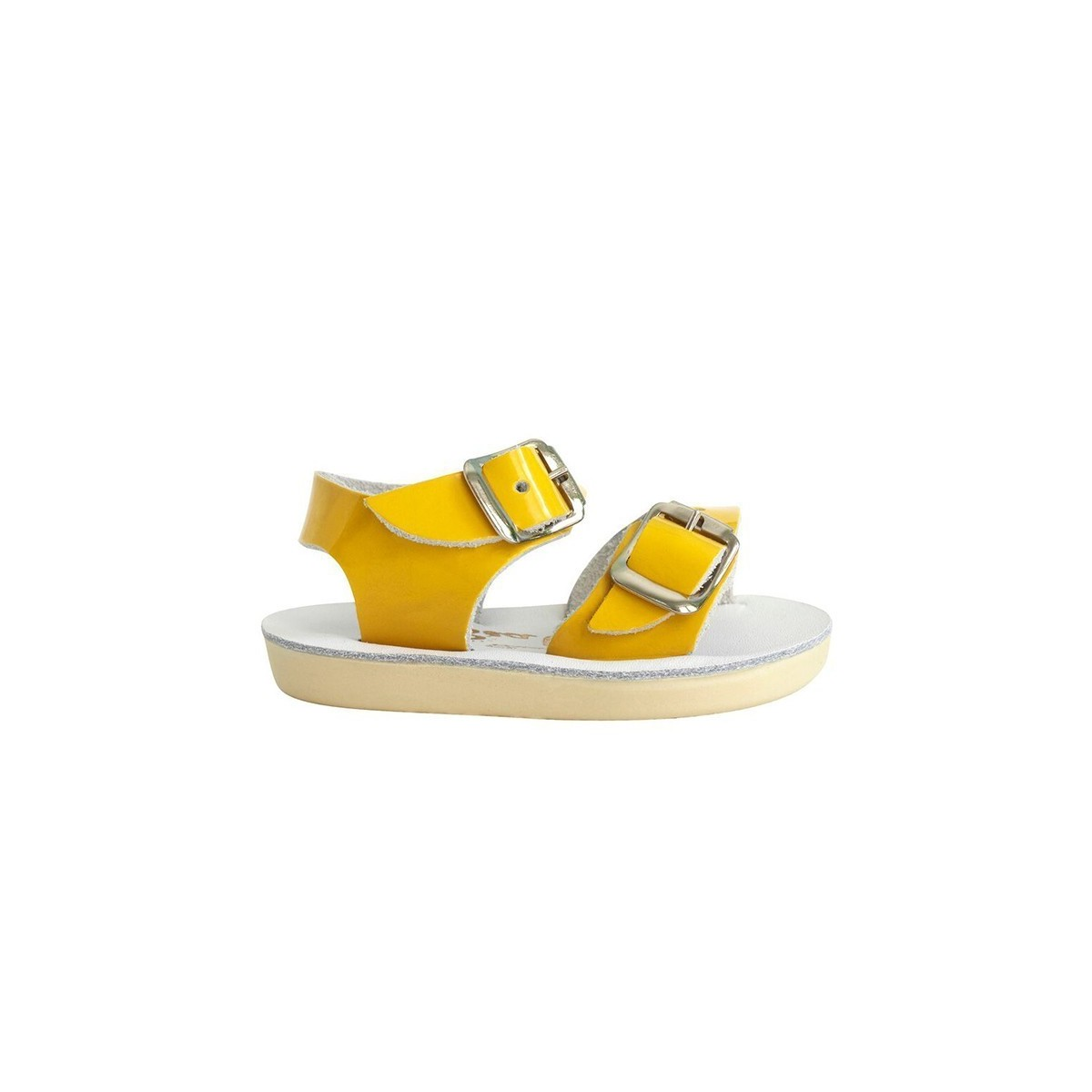 Salt water Seawee cuir vernis yellow