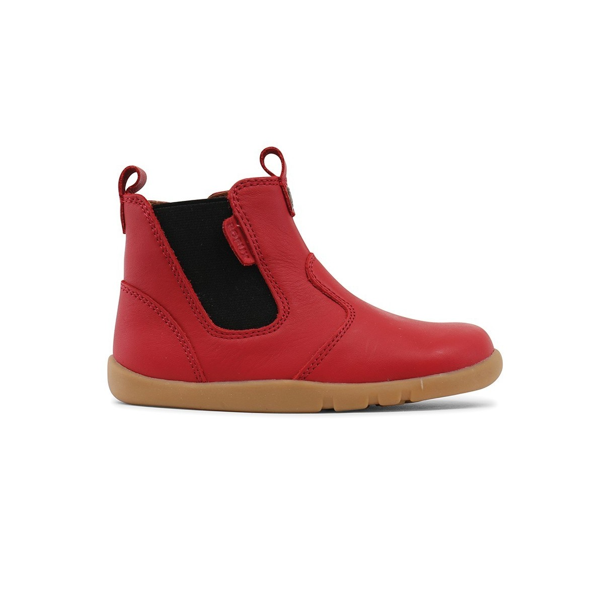 11f3029b572 Boots Outback cuir rouge