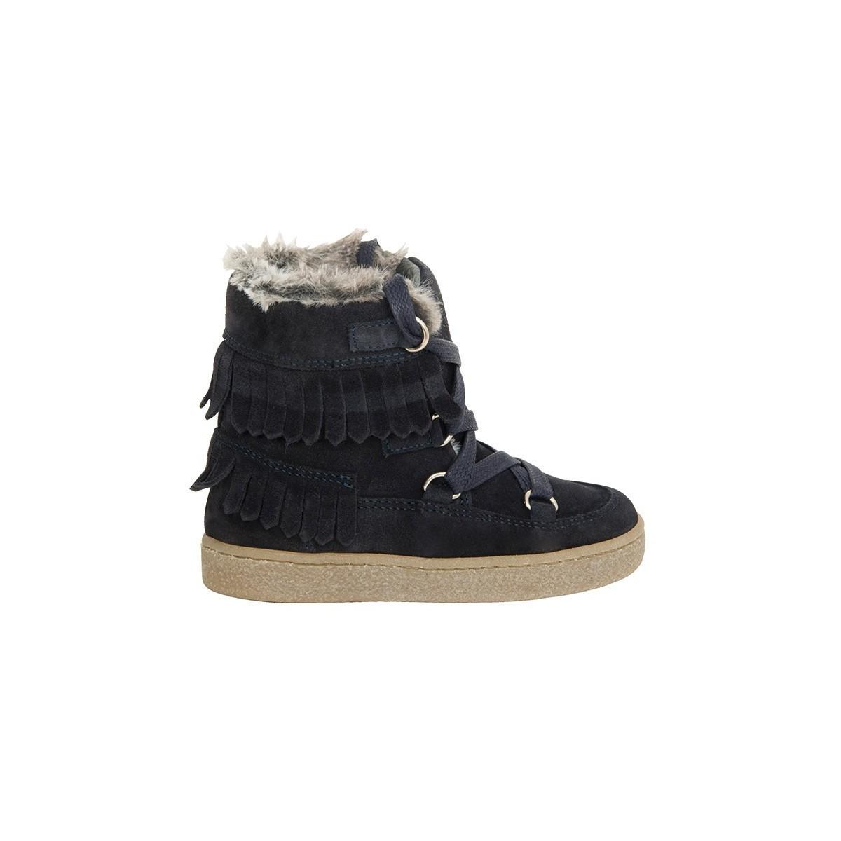 Boots Marshall peau marine