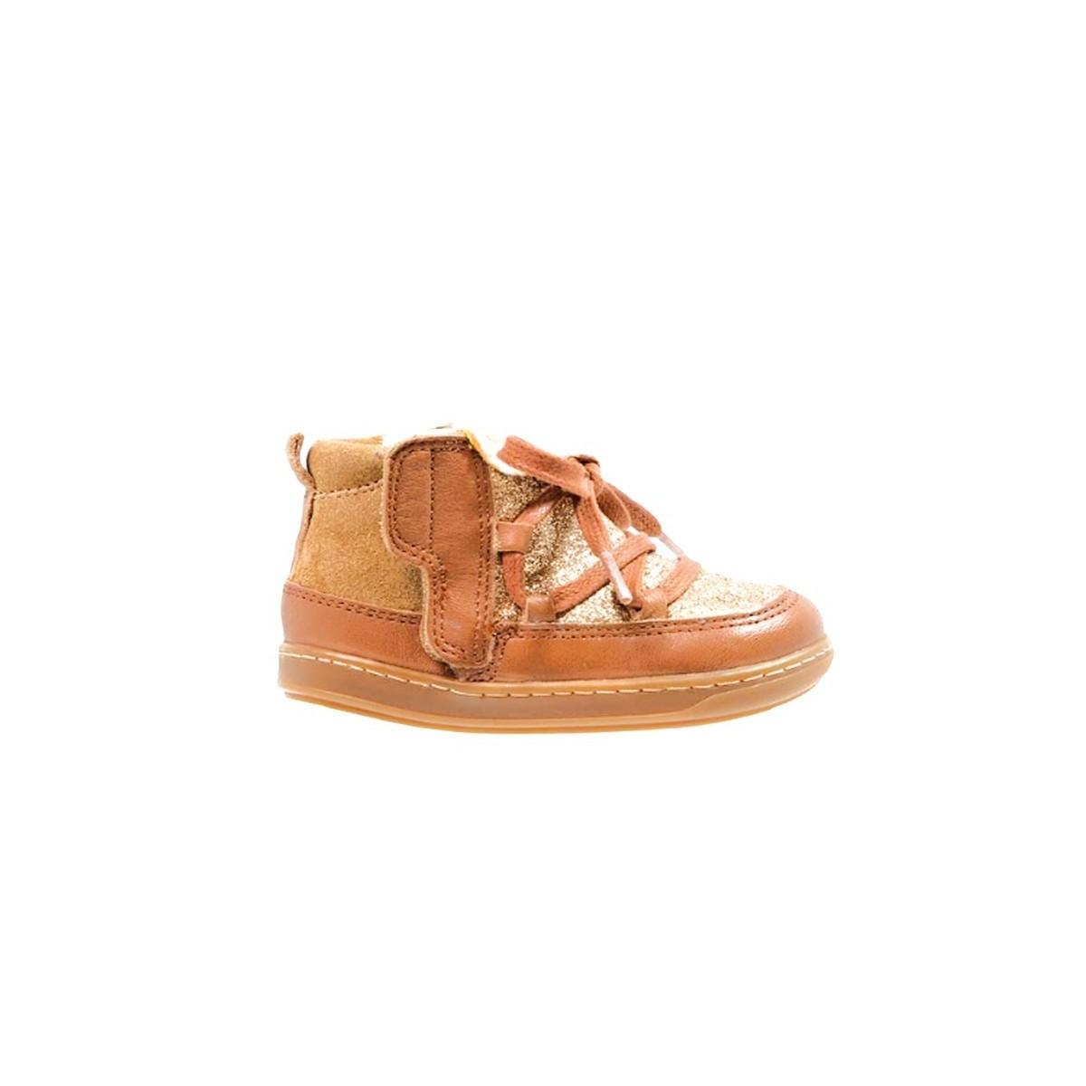 Boots Bouba glagla cognac/dore