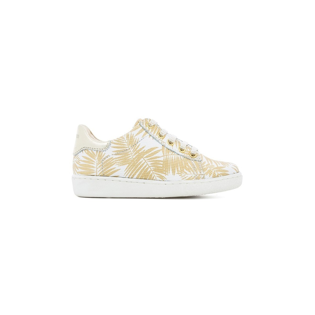Basket Ducky lo cut Palms gold