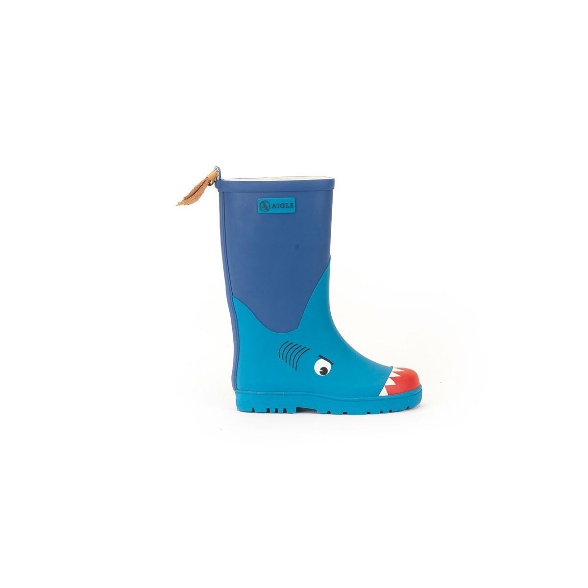Bottes de pluie Aigle Wodypop Requin
