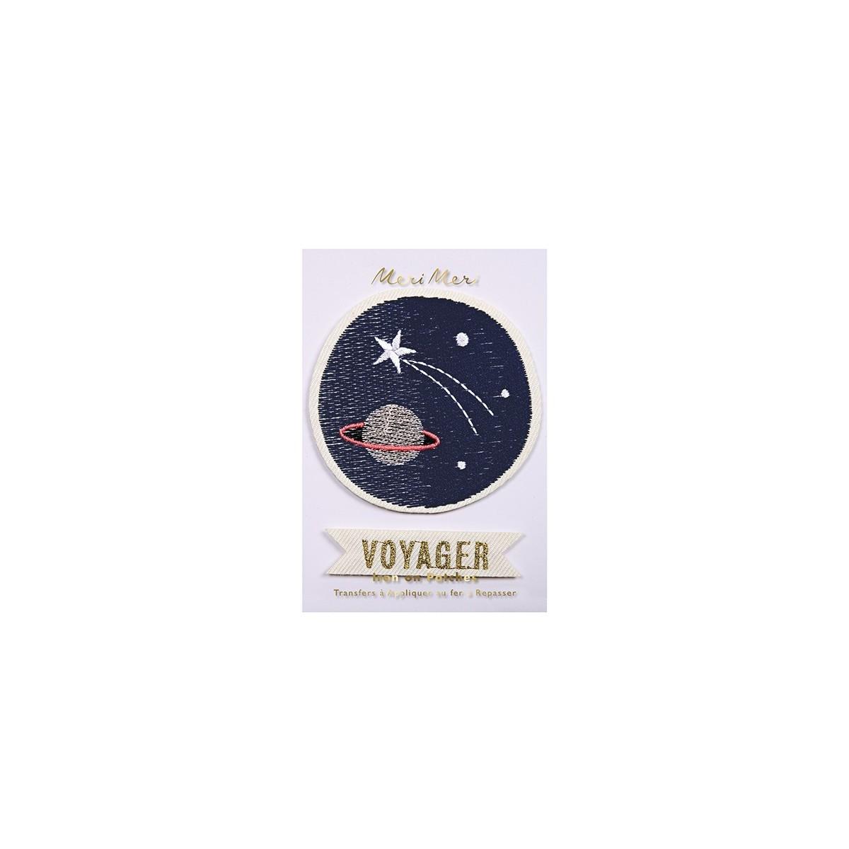 Ecussons Voyageur de l'espace