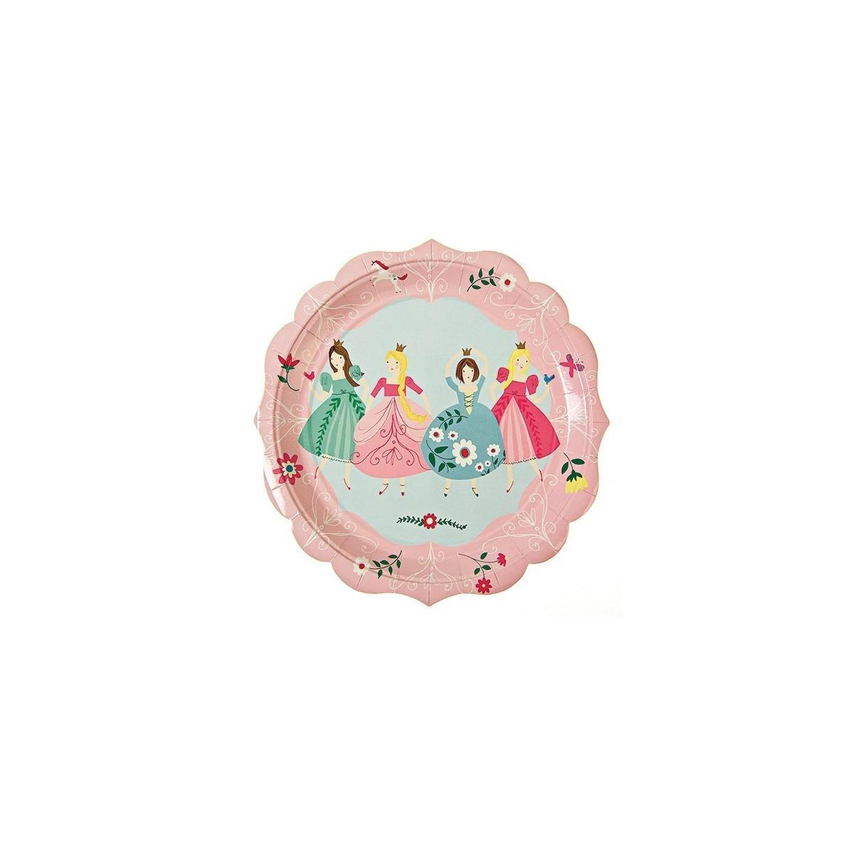 Assiette Princesse de la marque Meri Meri