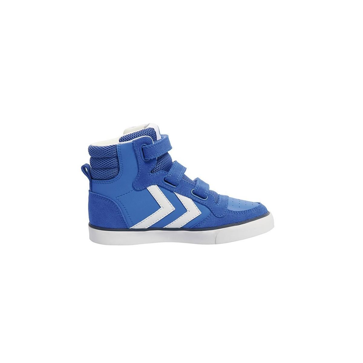 Basket haute Stadil cuir amparo blue