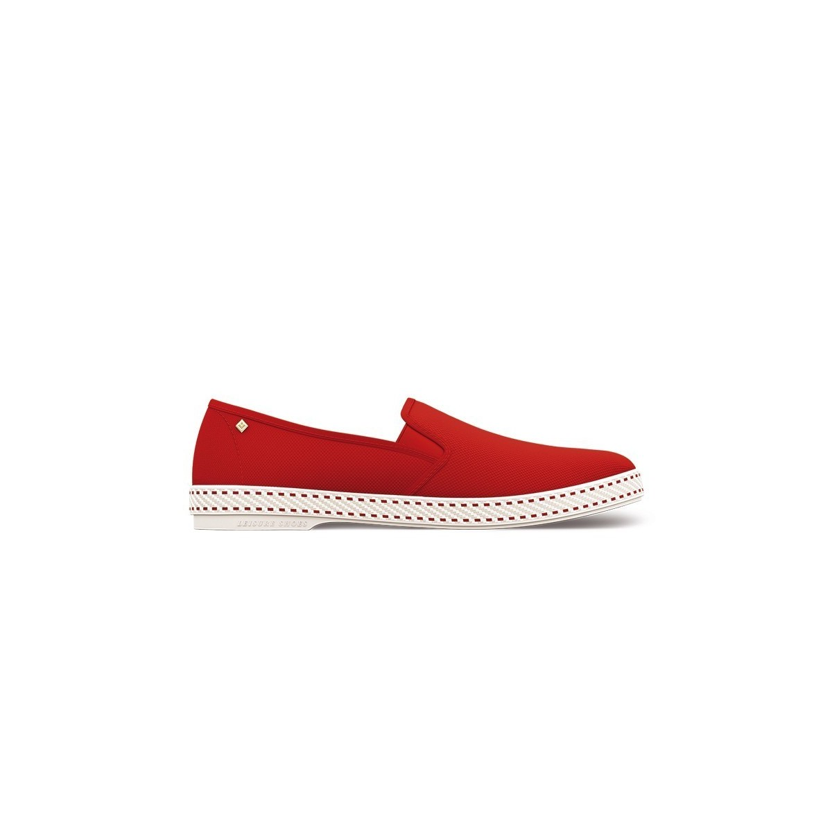 Chaussure toile Rivieras Rouge