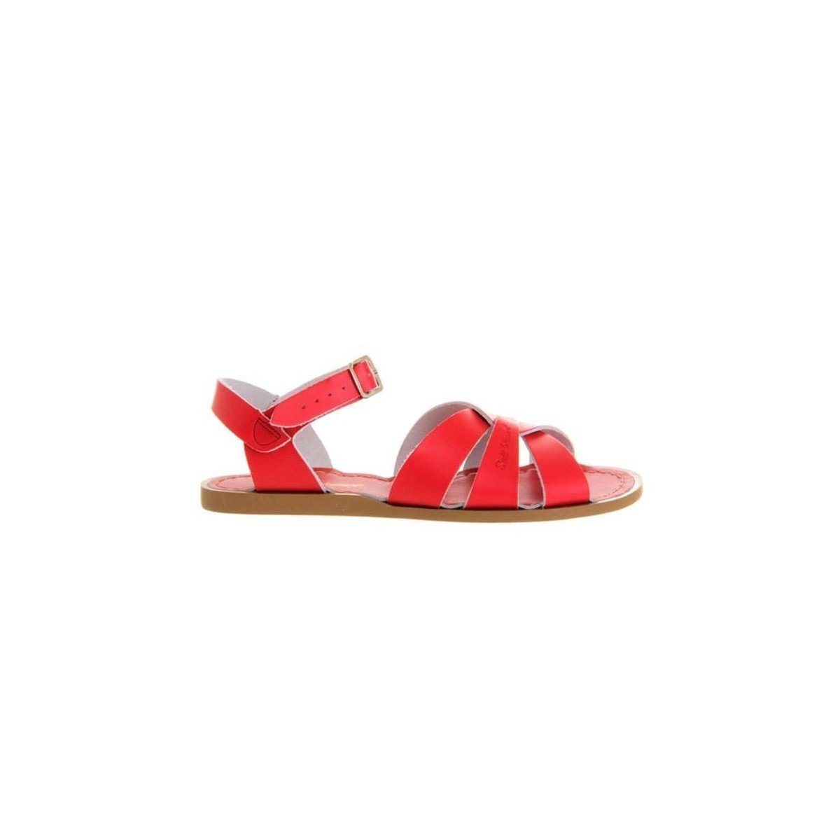 Sandale Salt Water Original cuir red