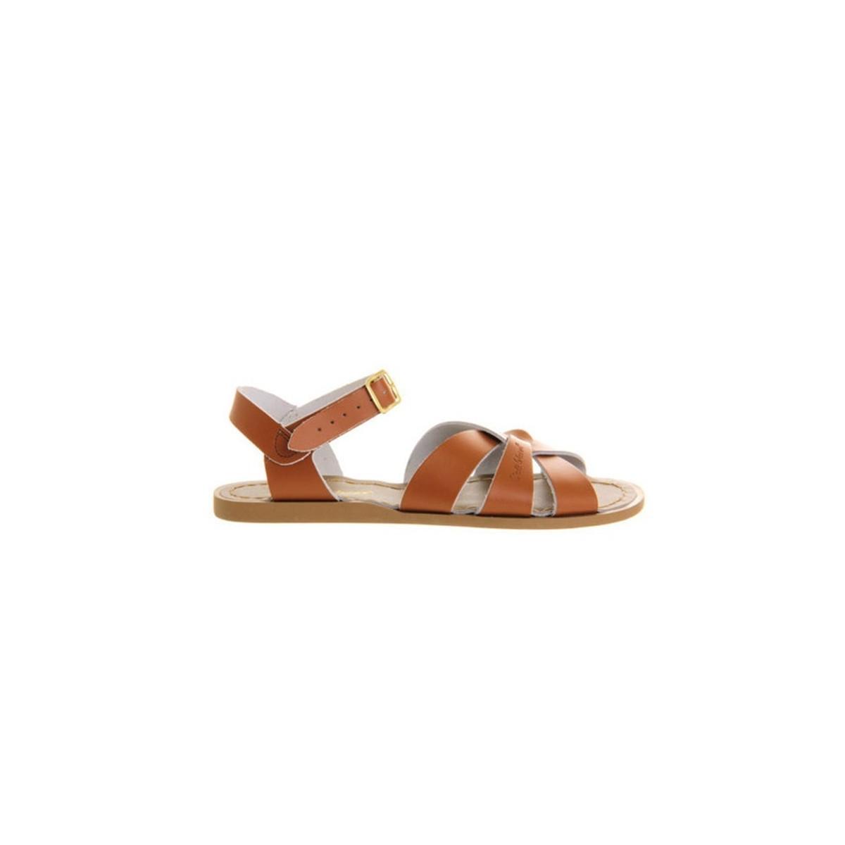 Sandale Salt Water Original cuir tan