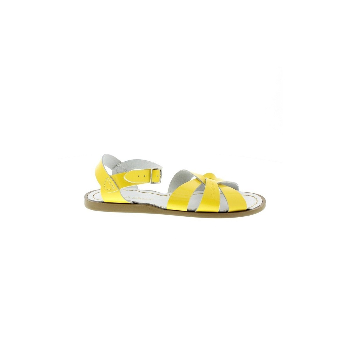 Sandale Salt Water Original cuir shinny yellow