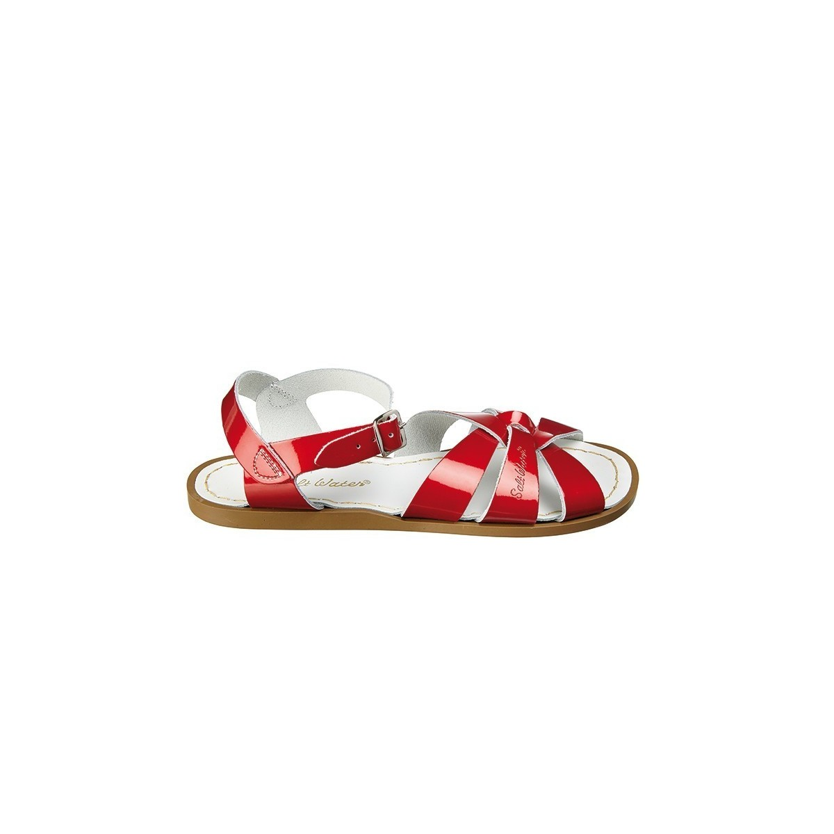 Sandale Salt Water Original cuir candy red