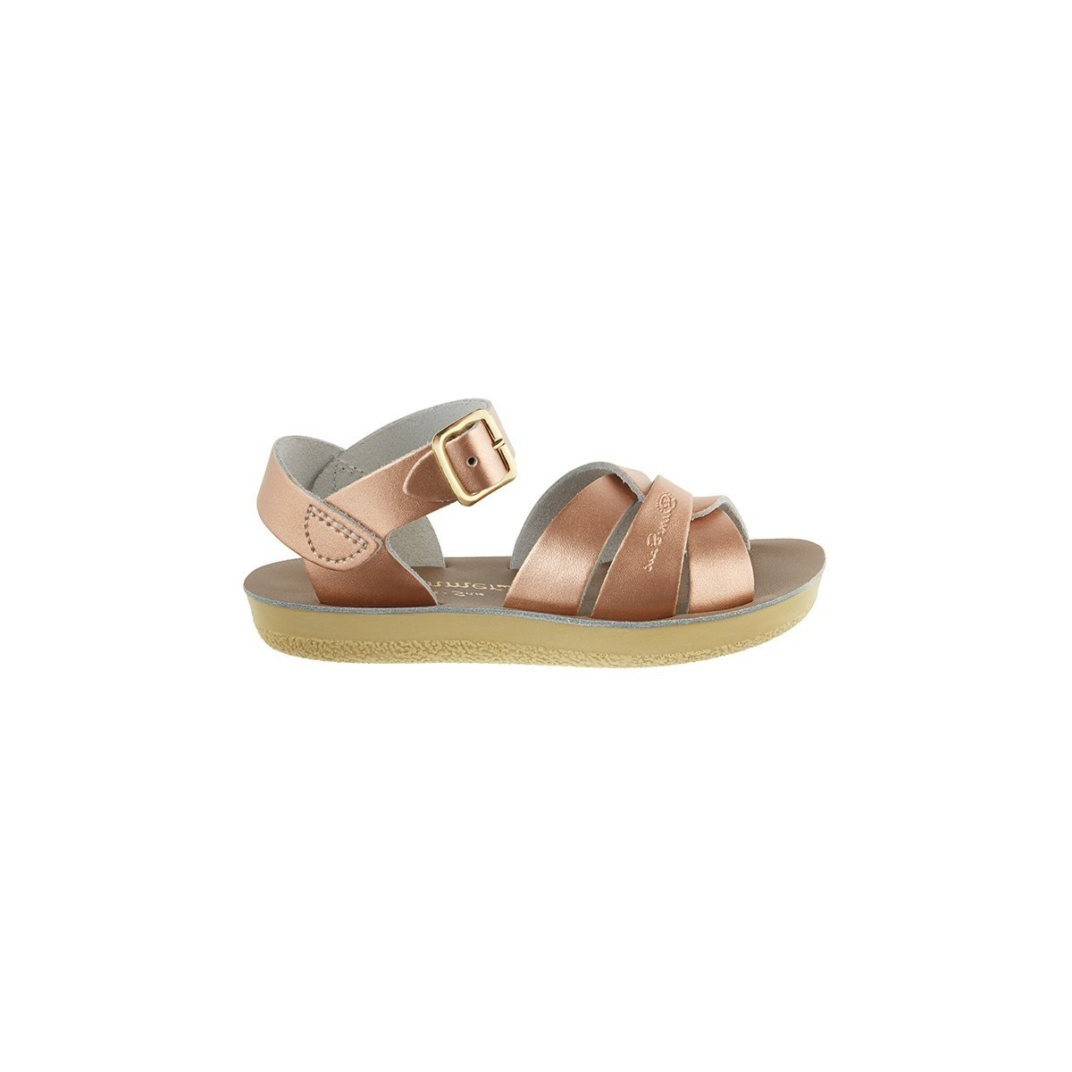 Sandale Salt Water Swimmer cuir rose gold
