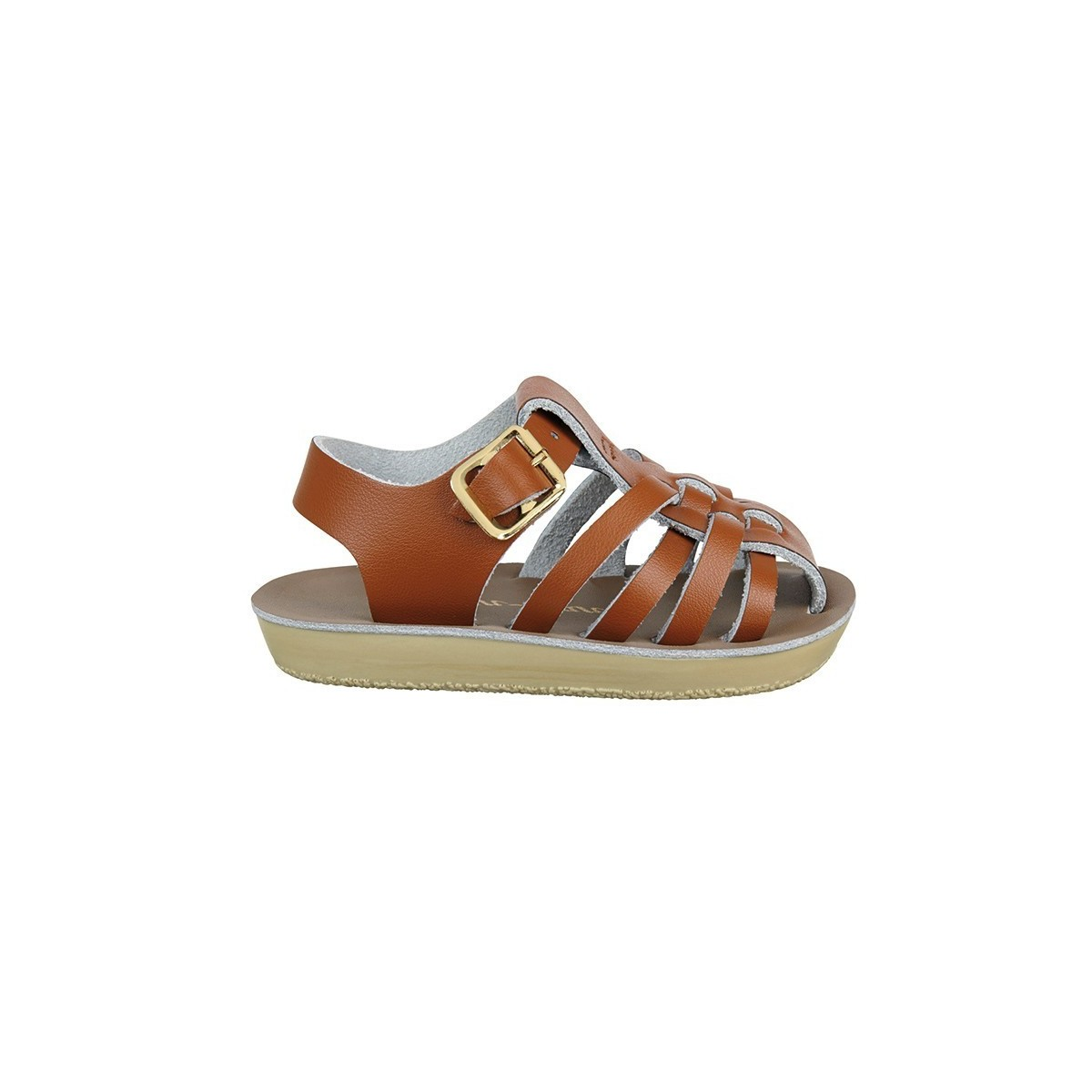Sandale Salt Water Sailor cuir tan