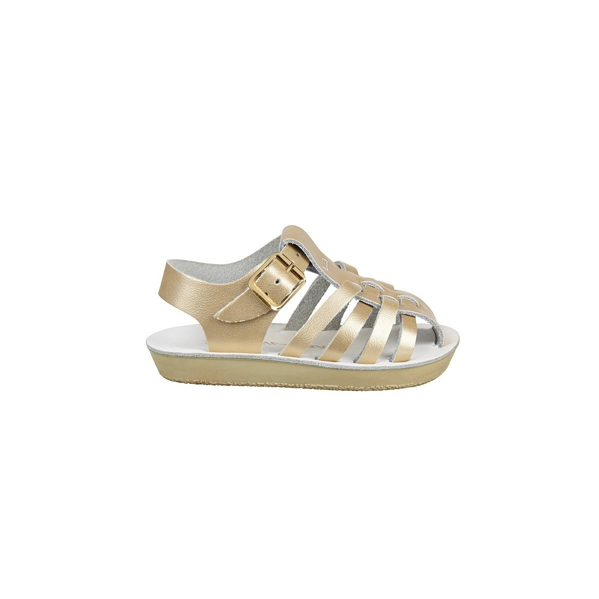 Sandale Salt Water Sailor cuir Gold