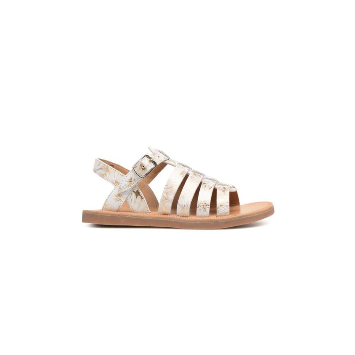 Sandale Plagette Strap Spring Or