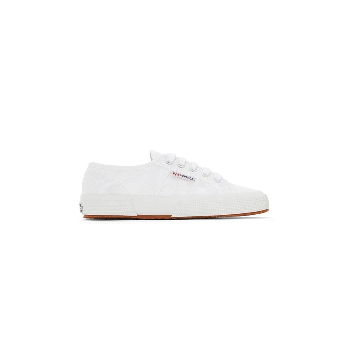 Tennis Superga lacets Toile blanc
