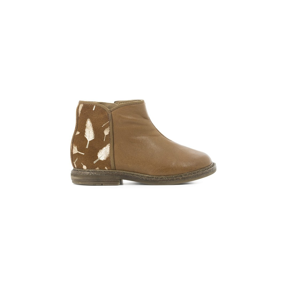 Boots Retro back camel/or