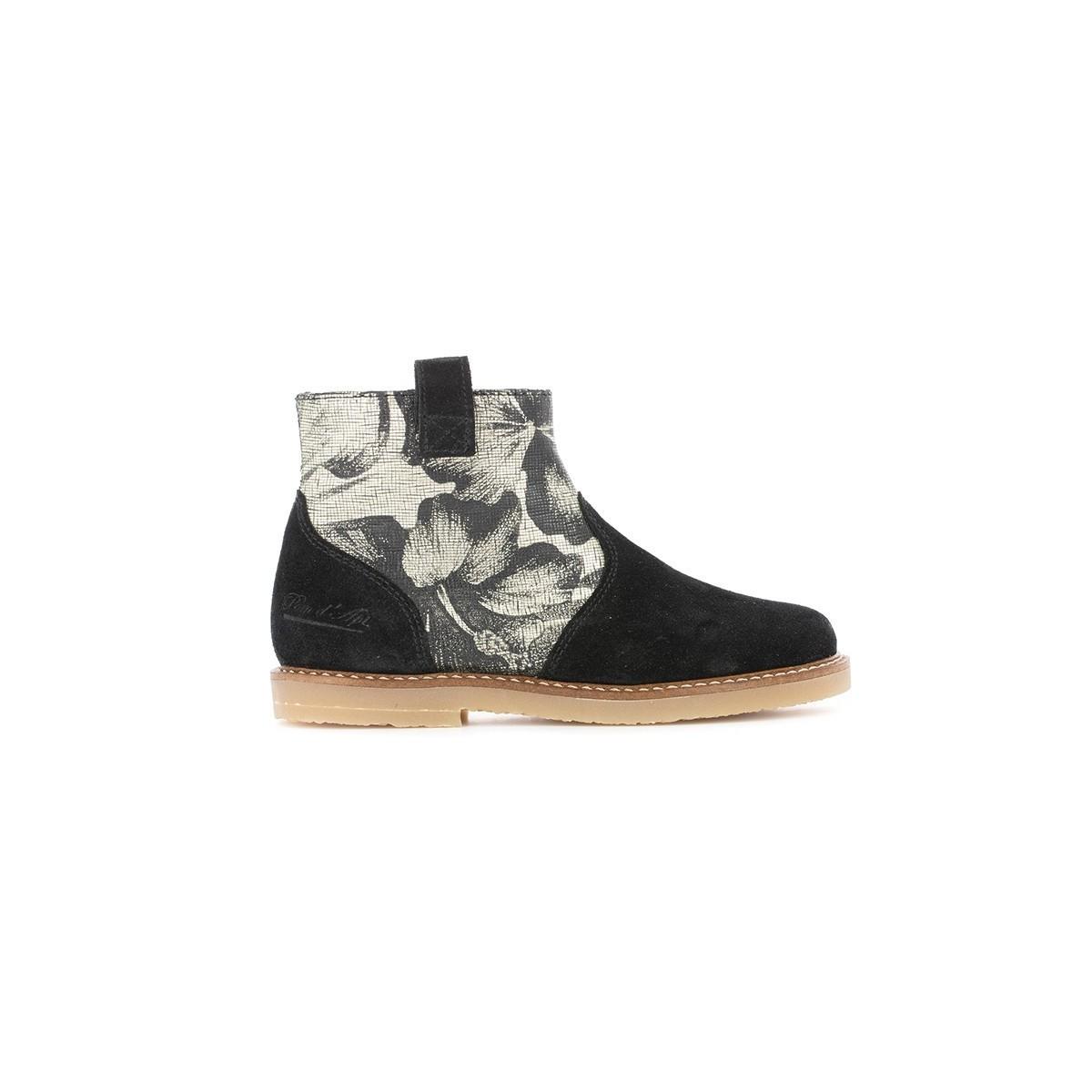 Boots Patex noir Hawai