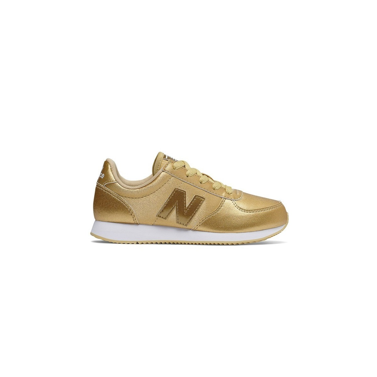 Basket New Balance lacets KV220 Gold