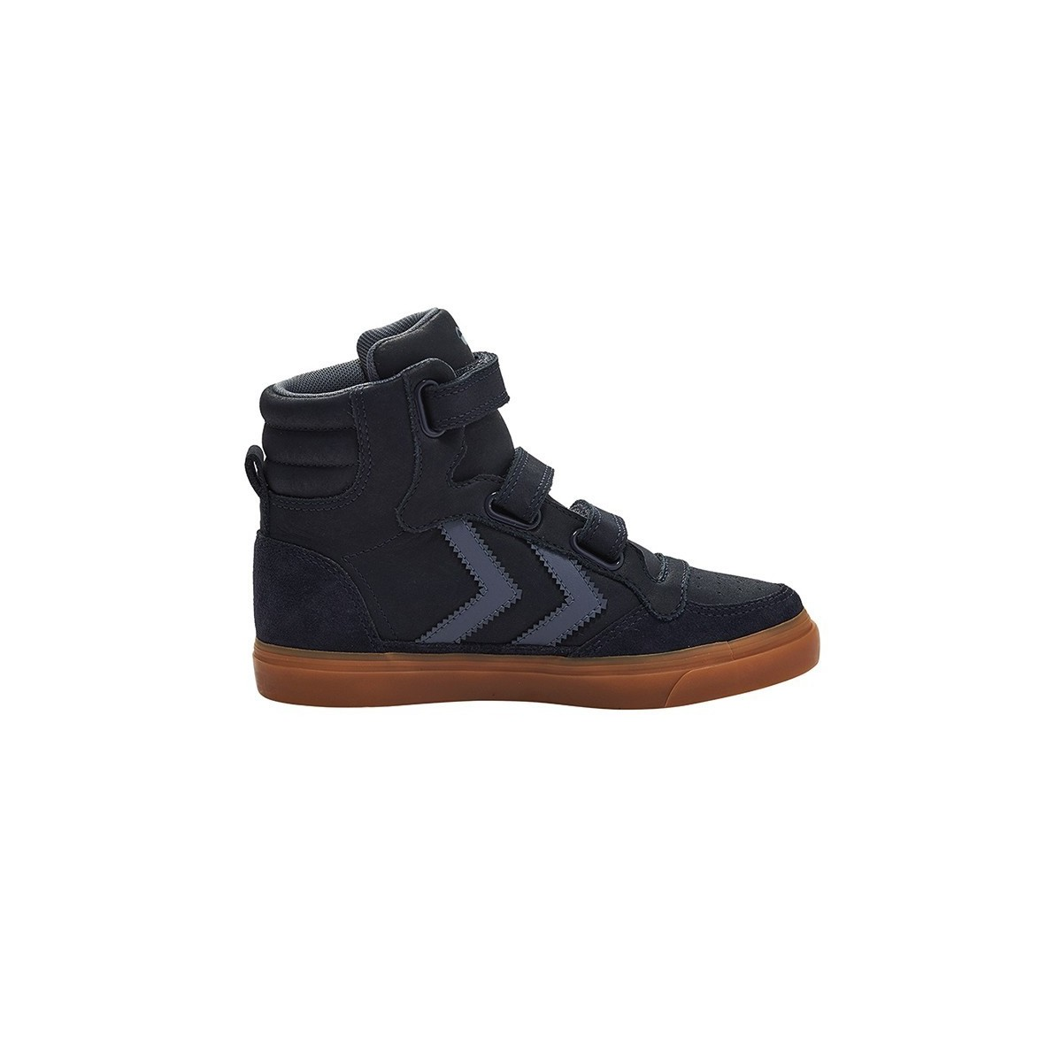 Basket montante Stadil Rubber velcro cuir Peacot