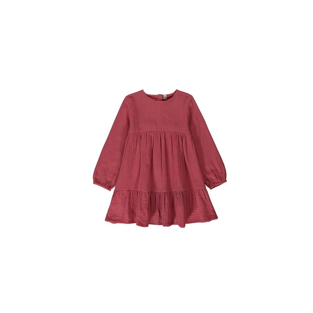 Robe coton gauze Rosewood