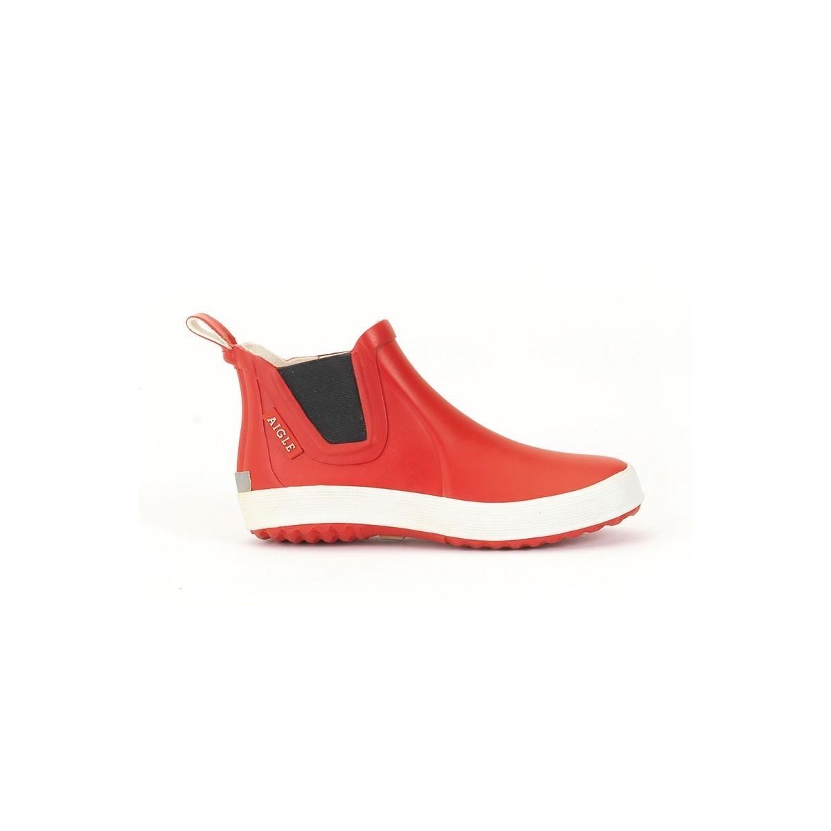 Boots de pluie Lolly Chelsea Rouge