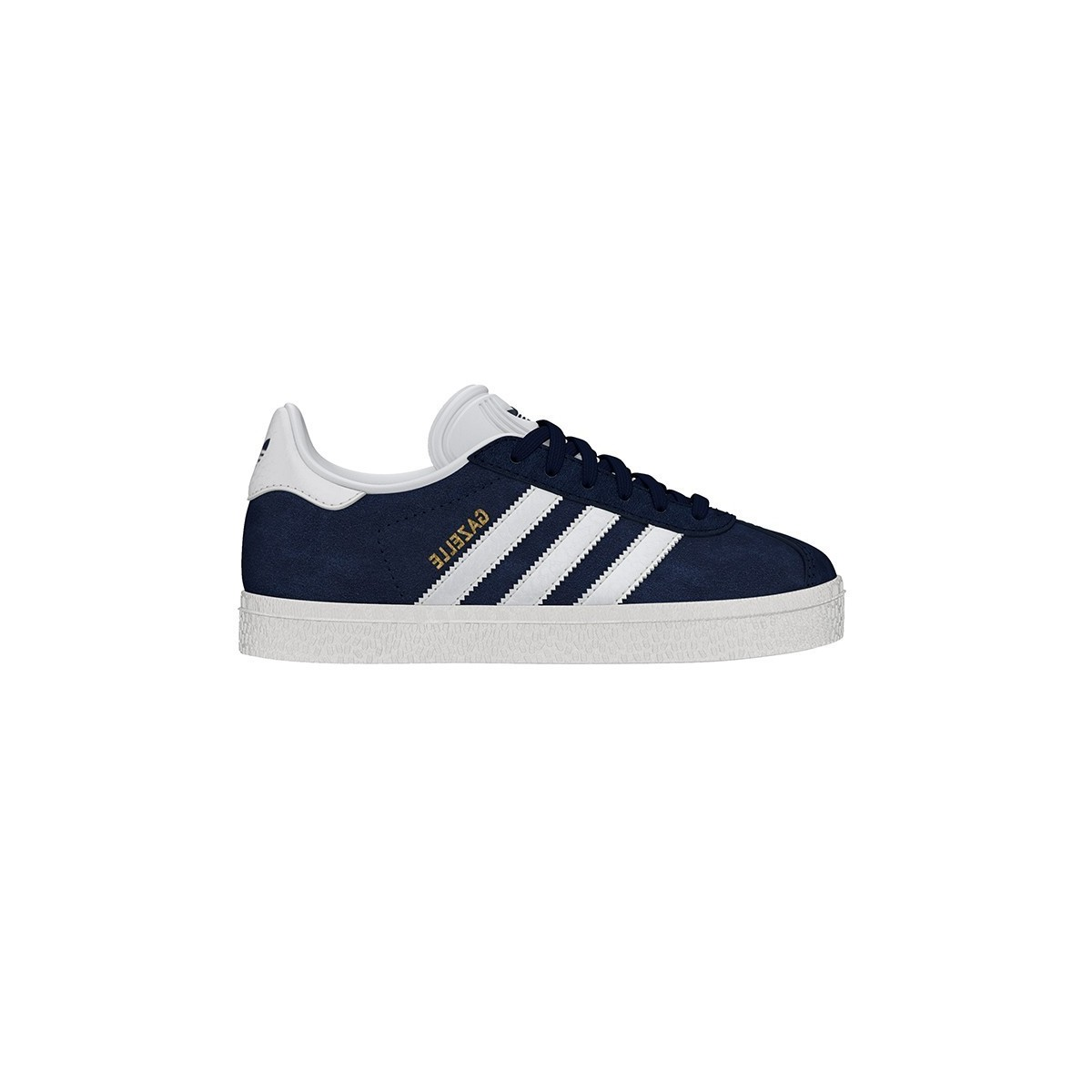 Baskets Gazelle Lacets Navy