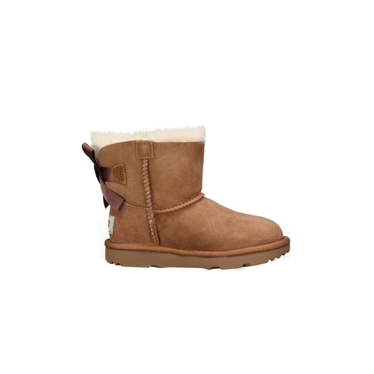 Botts Ugg Mini Bailey bow chesnut
