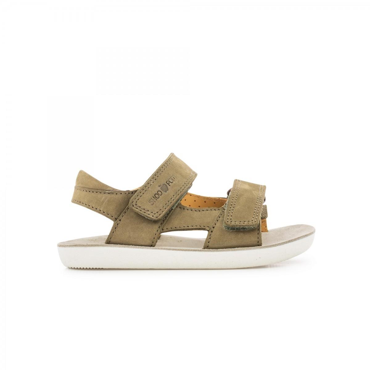 Sandale Goa Scratch Nubuck Kaki