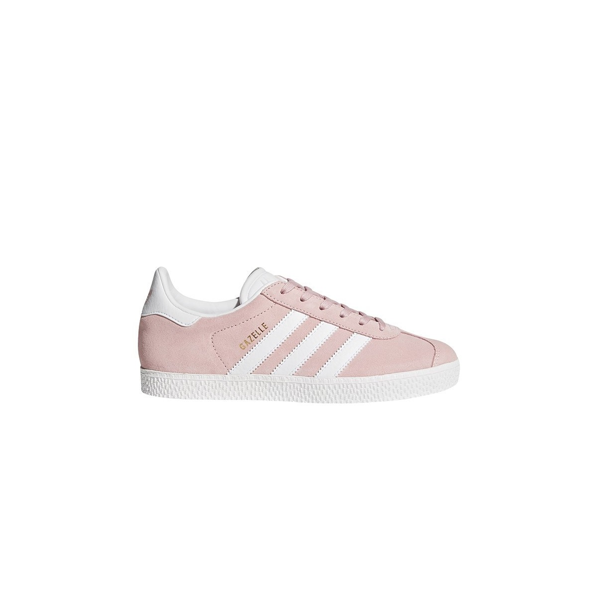 Basket Gazelle Lacets Rose Glacé