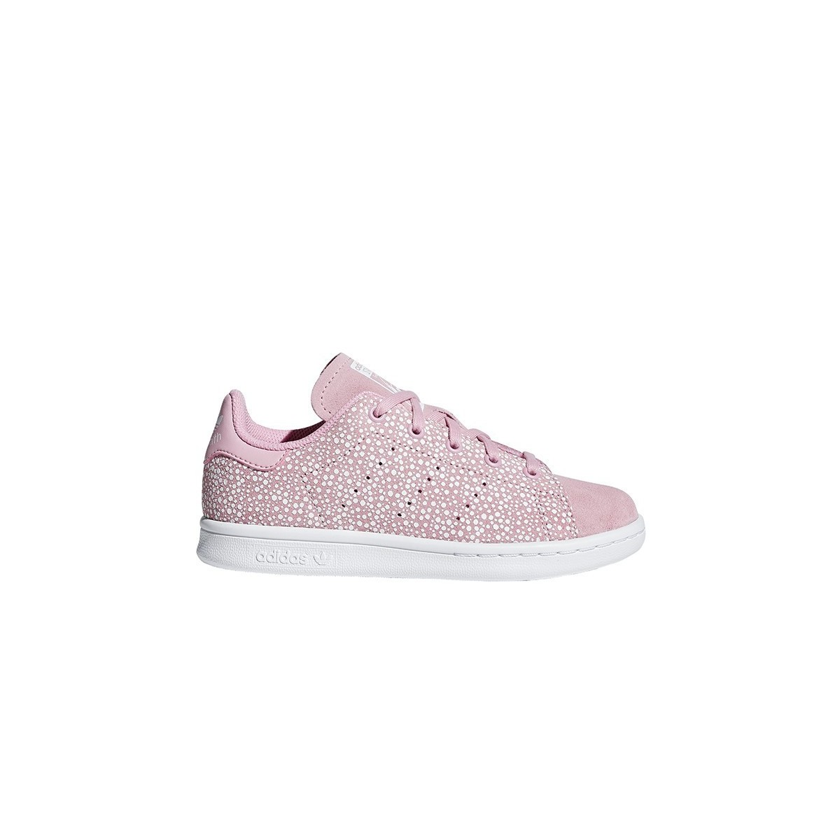 Basket Stan Smith lacets Rose Léger