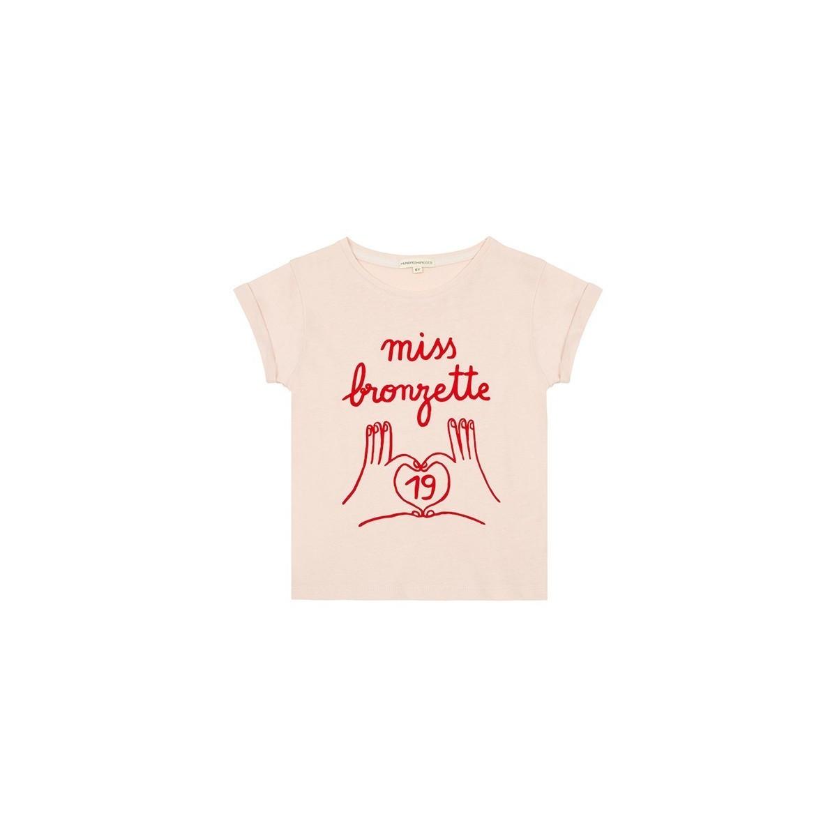 T-shirt Miss Bronzette