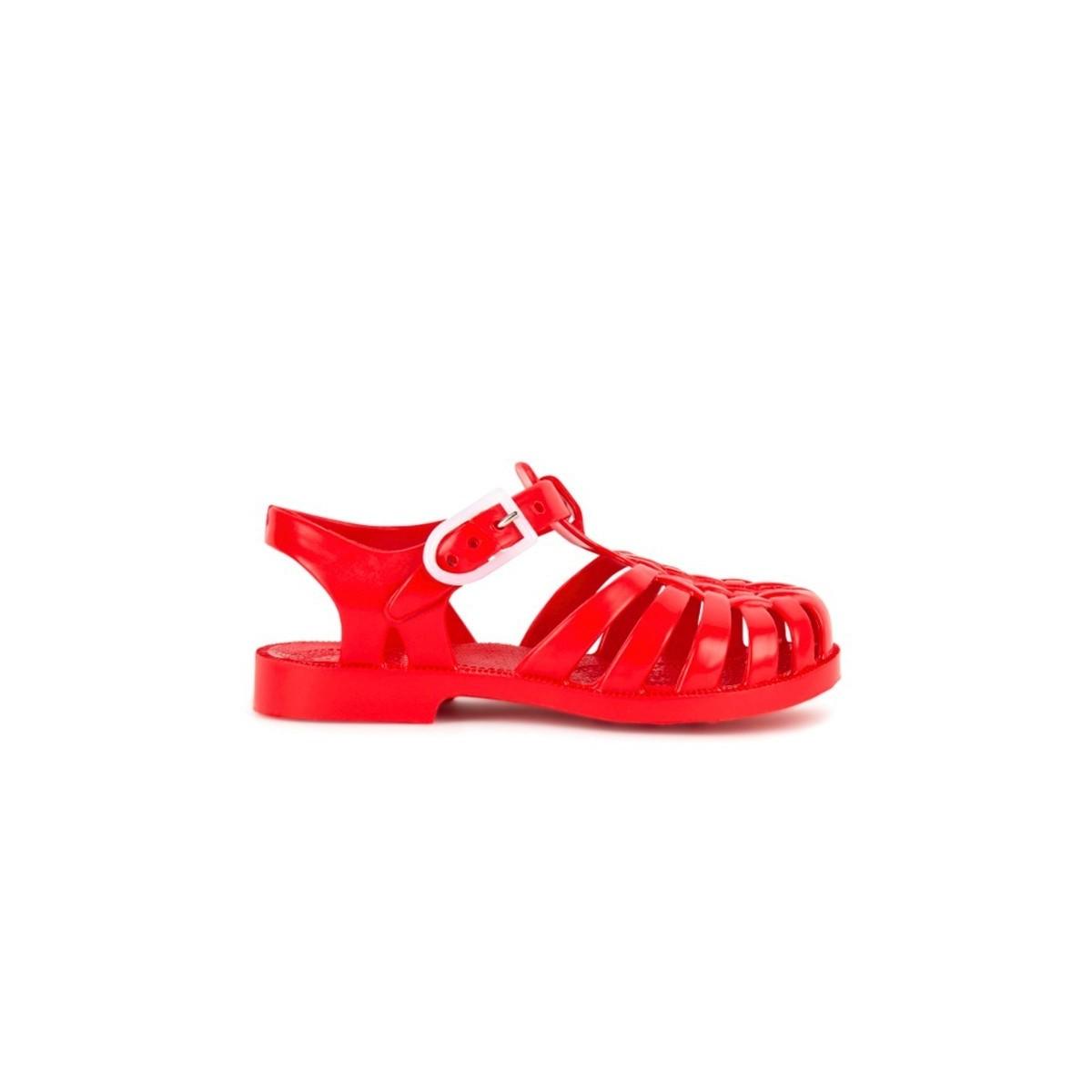 Sandale Méduse Carmin