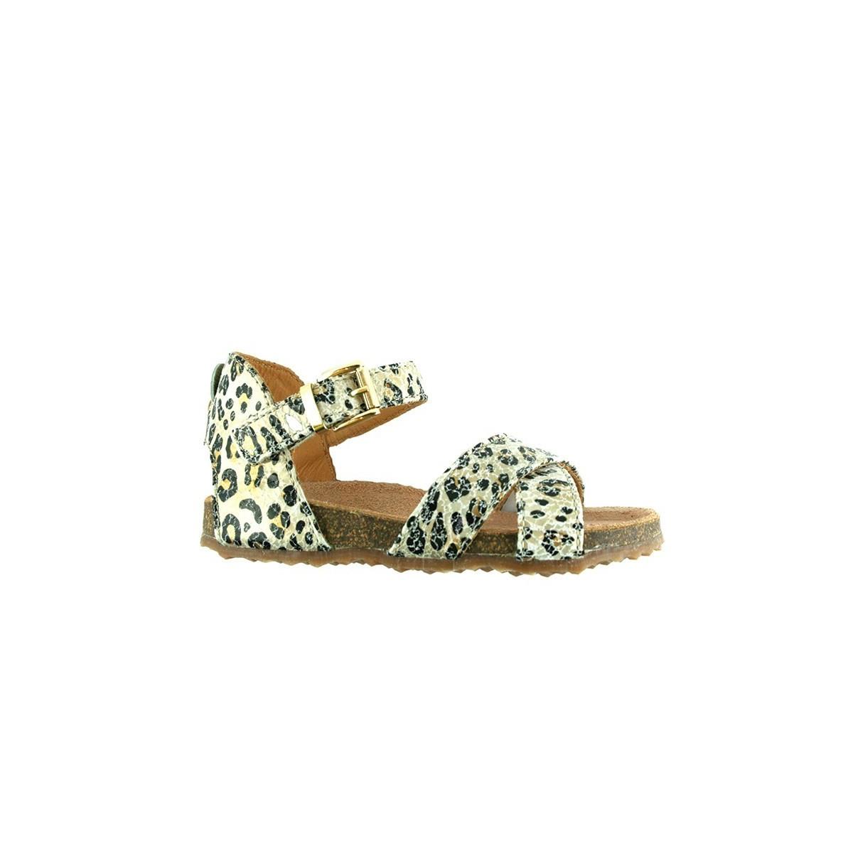 Sandale Ocra 9060 Cheetah cuir Léopard
