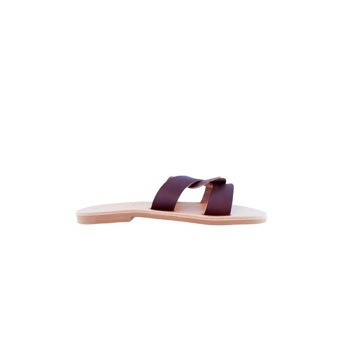 Sandale Grecque Chiana Brown