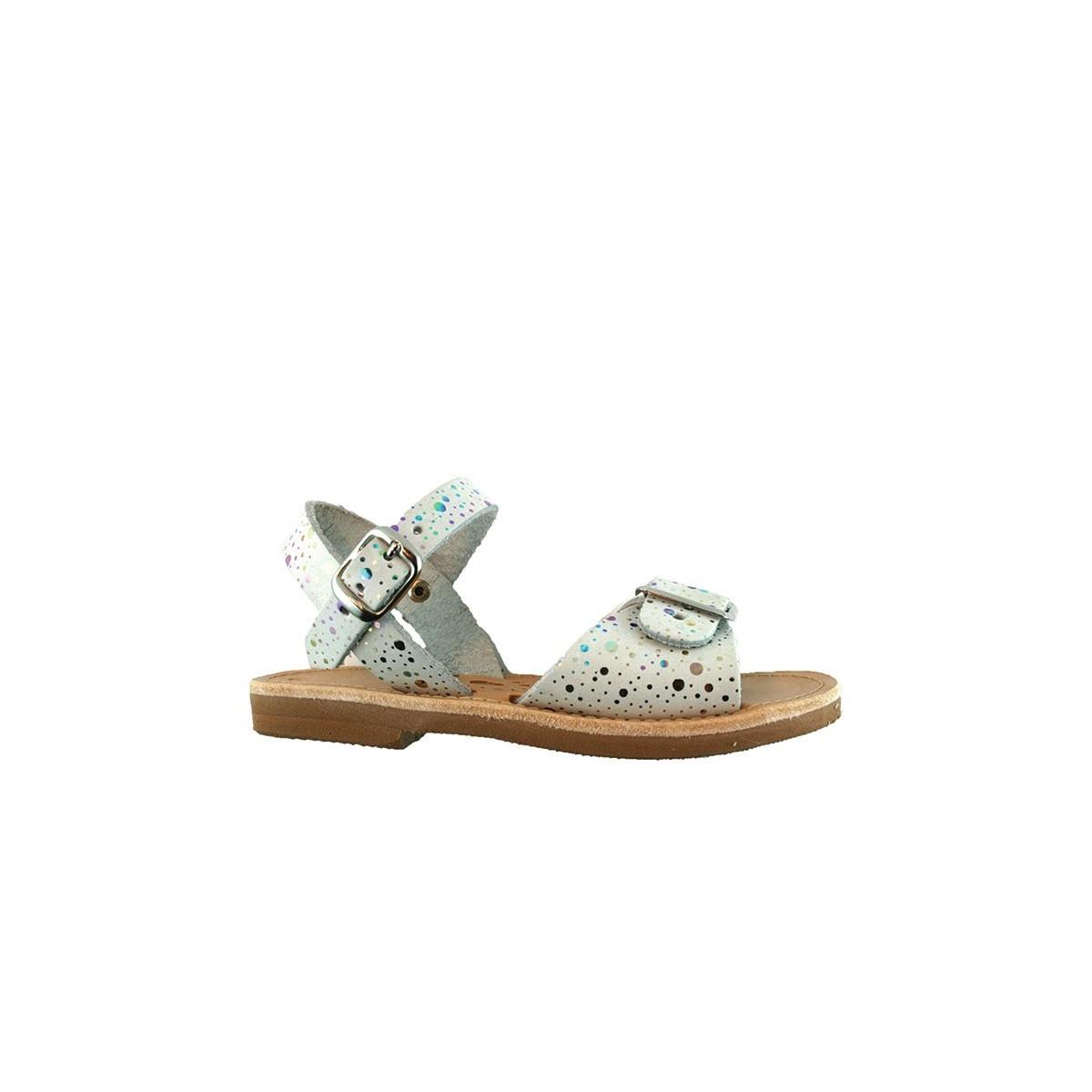 Sandale Grecque Egee White/Silver