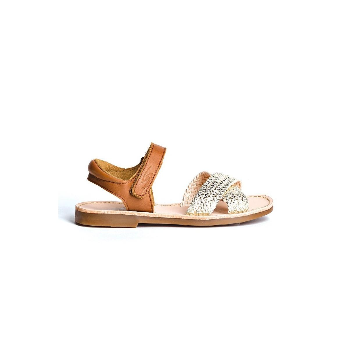 Sandale Julia Tresse Platine