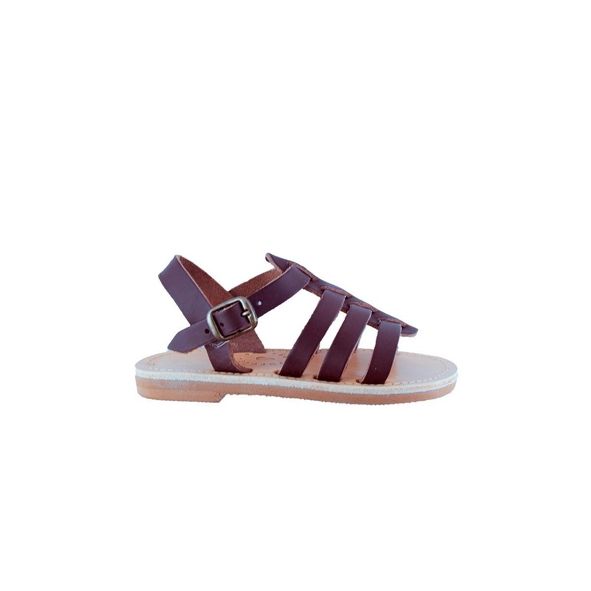 Sandale Grecque Santorini Brown