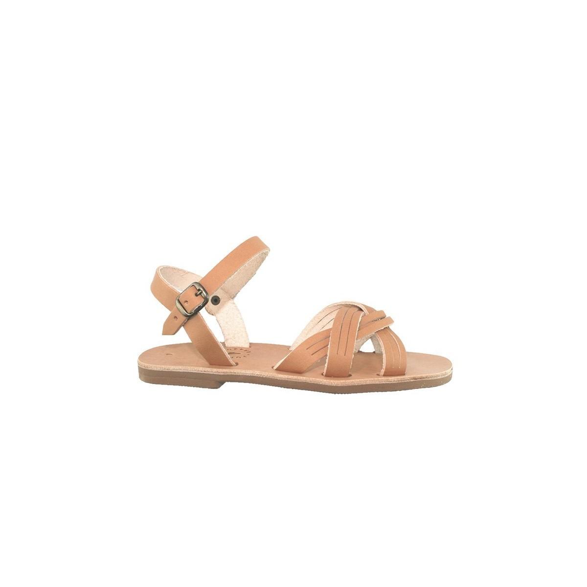 Sandale Grecque Kea Naturel