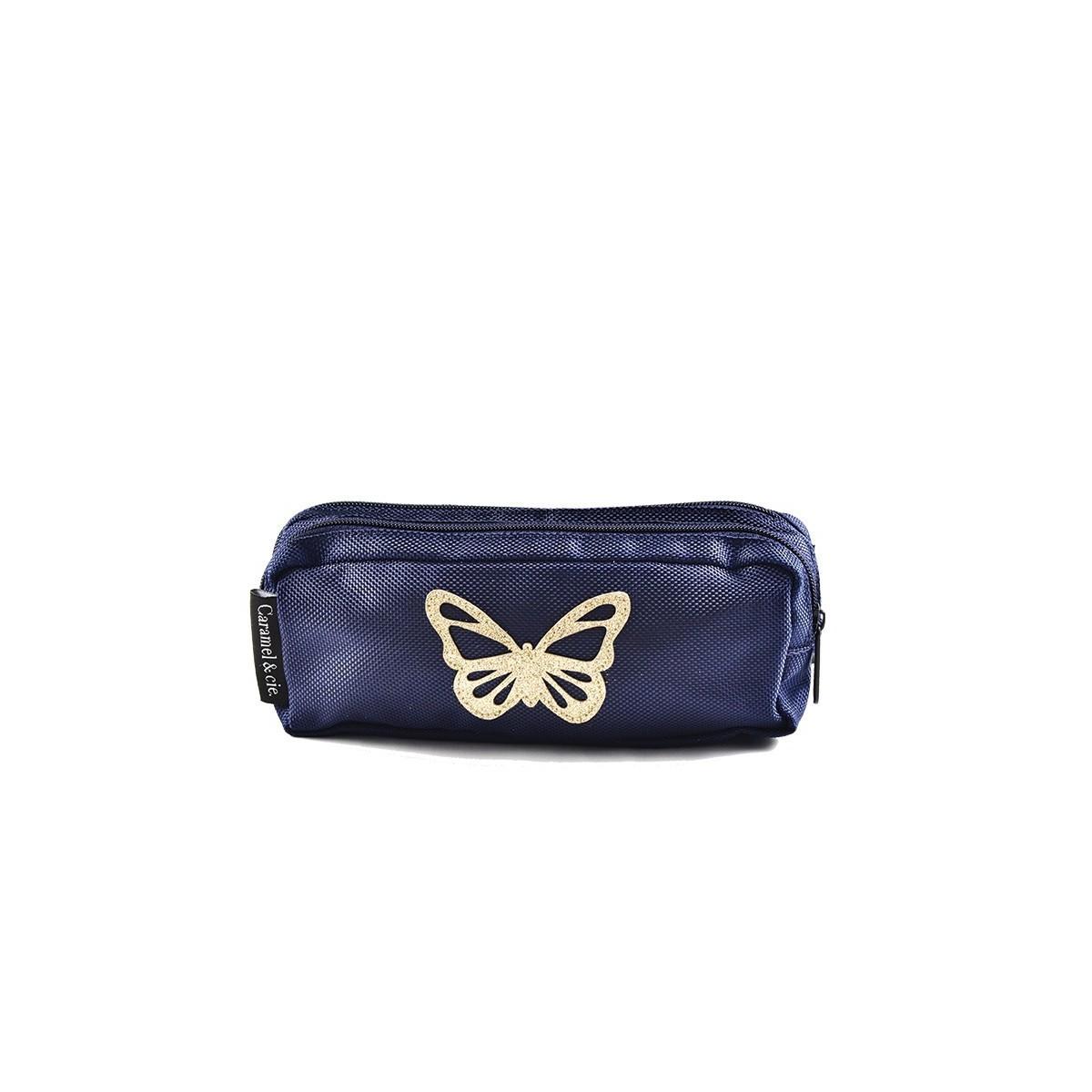 Trousse DBL Papillon Bleu