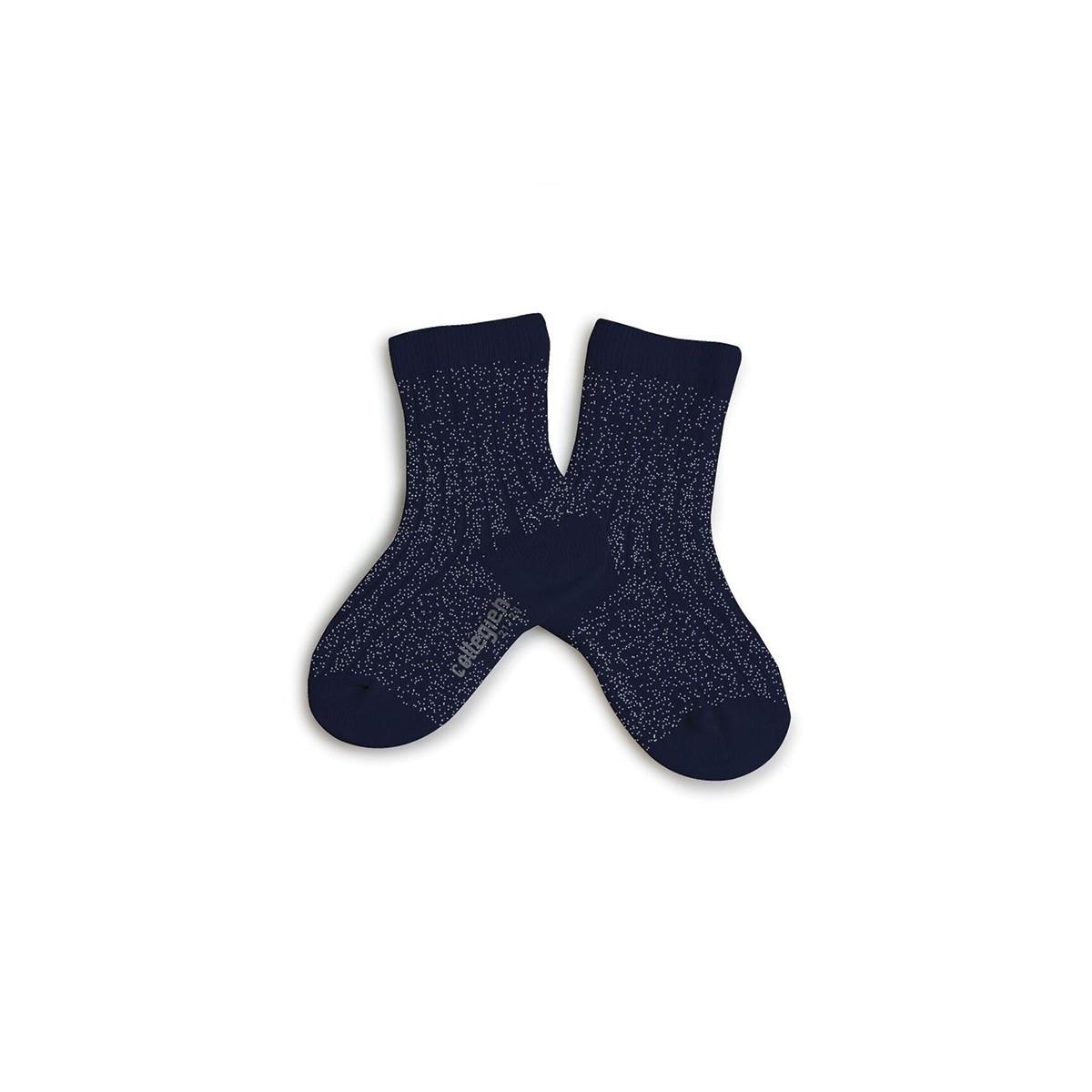 Chaussettes lurex Nuit étoilée