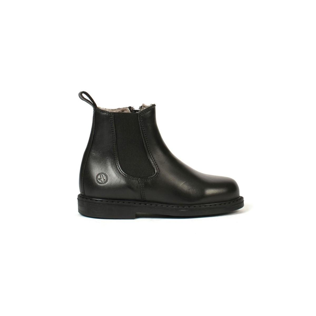 Boots Shetland noir