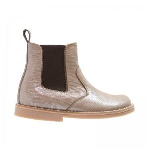 Boots élastique metalisées