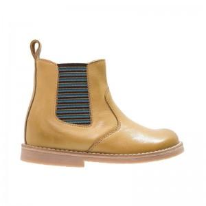 Boots élastique moutarde