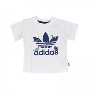 Teeshirt Dinosaures blanc/bleu