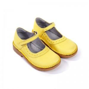 Babies Aimy velcro jaune