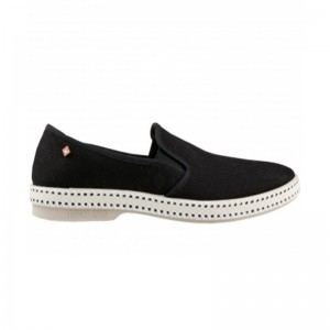 Chaussure toile Rivieras noir