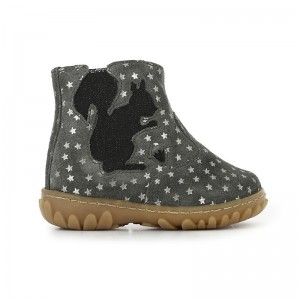 Boots Cute stars gris